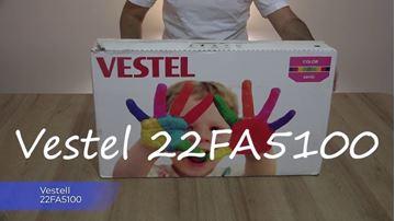 """Resim VESTEL COLOR22FA 5100 B 22"""" TV ( BEYAZ )(TEŞHİR-OUTLET ÜRÜN)"""